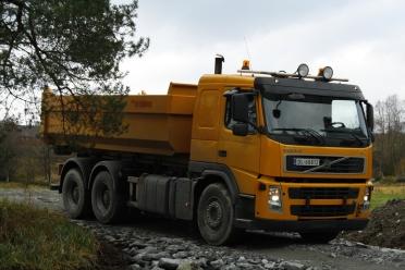 Volvo Fm 2007 mod Krokløftbil. Denne har vi både 20 og 30 M3 container til.